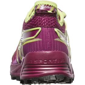 La Sportiva Mutant Running Shoes Women Plum/Apple Green